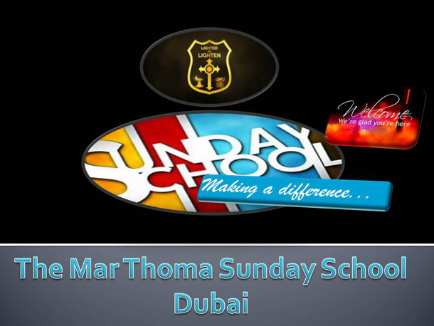 Dubai martthomaa parish- sunday school, Dubai
